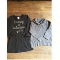 Vestido e blusinha gap - 6 anos - Baby Gap