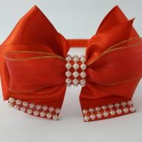 tiara vermelha - Sem faixa etaria - Artesanal