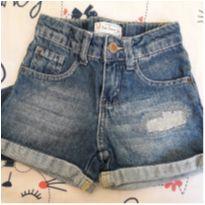 Shorts jeans - 18 a 24 meses - Póim