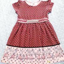 Vestido turma da malha - 24 a 36 meses - Turma da Malha e Miss Trm