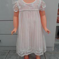 Vestido Branco bordado - 24 a 36 meses - Póim