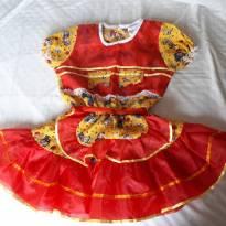 Vestido Caipirinha Festa Junina - 4 anos - Alk