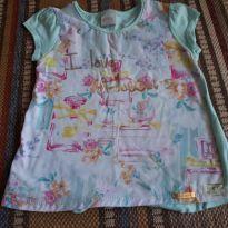 Blusinha flores delicadas  4 anos - 4 anos - Alakazoo!