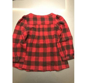 Camisa vermelha - 3 anos - Baby Gap