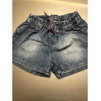 Short jeans - 24 a 36 meses - Hering Kids