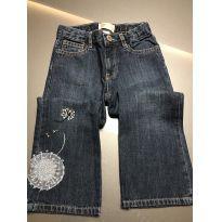 Calça jeans com bordado - 3 anos - Baby Gap