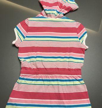 Camiseta listrada com capuz - 4 anos - Tommy Hilfiger