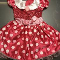 Vestido fantasia Minnie