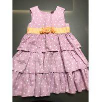 Vestido lilás e laranja - 3 anos - Carter`s