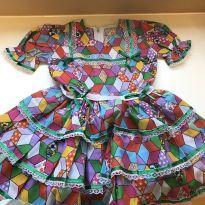 Vestido festa junina - 4 anos - Sem marca