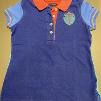 Camiseta polo Tommy - 4 anos - Tommy Hilfiger