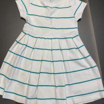 Vestido branco - 6 anos - Zara