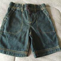 [CD130] Bermuda Jeans com Pespontos Carters - 3 anos - Carter`s