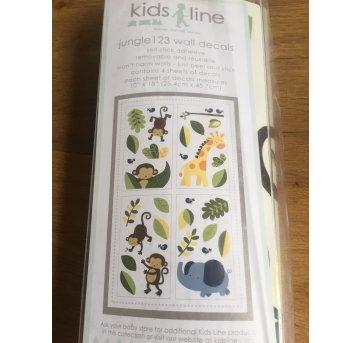 [CD152] Kit adesivos parede importado - Tema Safari - Sem faixa etaria - Kids Line