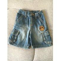 [C213] Bermurda Cargo Jeans Macaco Gymboree - 2 anos - Gymboree