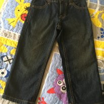 [CD232] Calça Jeans Pespontada Gymboree - 3 anos - Gymboree