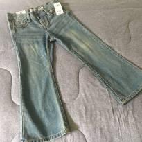 [C335] Calça Jeans Menina Boca Larga - 6 anos - OshKosh