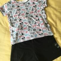 [CD359] Pijama curto Mickey - Original Disney - 3 anos - Disney