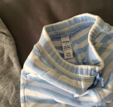 [C402] Kit 2 calças moleton GAP - 0 a 3 meses - Baby Gap
