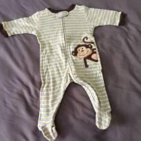 [C401] Macacão malha macaco Carters - 3 meses - Carter`s
