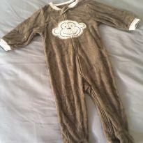 [CD464] Macacão Plush Macaco Carters - 9 meses - Carter`s