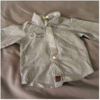 [CD446] Camisa Social Benetton - 3 meses - Benetton Baby