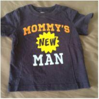 [CD479] Blusa Malha Mommy`s New Man - 18 meses - Carter`s