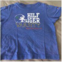 [CD480] Blusa Tommy Azul - 1 ano - Tommy Hilfiger
