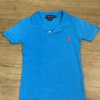 [CD500] Blusa US Polo Assn Azul - 4 anos - US Polo Assn