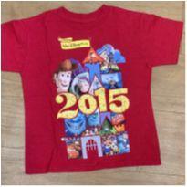 [CD491] Camisa Disney Comemorativa 2015 - 5 anos - Disney