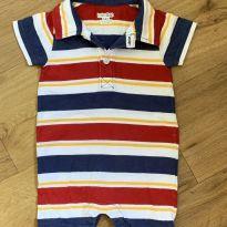 [CD524] Macaquinho Listrado Baby GAP - 3 a 6 meses - Baby Gap