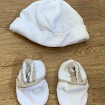 [CD538] Kit touca e pantufinha -  - Benetton Baby