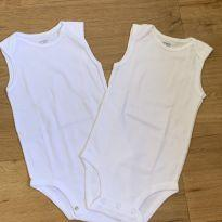 [CD546] Kit 2 Bodies Sem Manga Branco Básico Carters - 9 meses - Carter`s