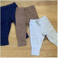 [CD583] Kit 3 calças malha - 3 meses - Carter`s