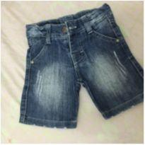 Short jeans kibaby - 3 a 6 meses - Ki Baby
