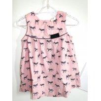 Vestido Zebras - 3 a 6 meses - H&M