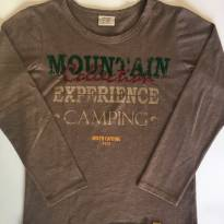Camiseta Mountain - 7 anos - Zara