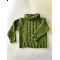 Blusão Verde Gola alta - 3 anos - Abracadabra