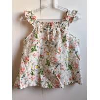 Blusa Botânica - 4 anos - Zara