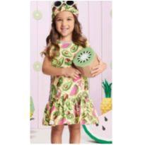 Vestido Abacate - 5 anos - Mommi