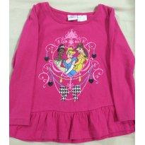 Blusa das princesas 4T - 4 anos - Disney
