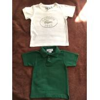 Kit com 2 camisas 2 anos (Lacoste e Destak) - 2 anos - Lacoste