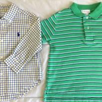 Camisa Ralph Lauren 18m e brinde - 18 meses - Ralph Lauren