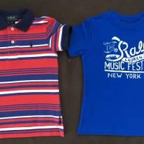 Kit 2 camisas Ralph Lauren tamanho  2 - 2 anos - Ralph Lauren