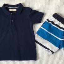 Camisa polo + brinde - 2 anos - Zara
