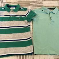 Kit com 2 camisas polo 3/4 anos - 3 anos - Lacoste