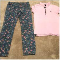 Calça Benetton e Camisa Ralph Lauren - 6 anos - Ralph Lauren