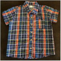 Camisa Xadrez 4 anos - 4 anos - Alenice