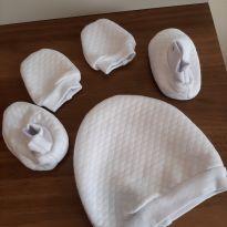 Kit maternidade bebê, 5 peças- Cuca Criativa -  - Cuca Criativa