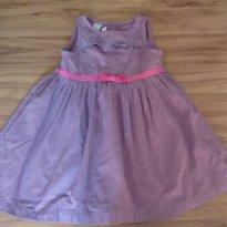 Vestido Alphabeto Roxinho - 3 anos - Alphabeto